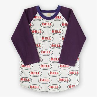 70s BELL HELMETS ヴィンテージTシャツの全体画像