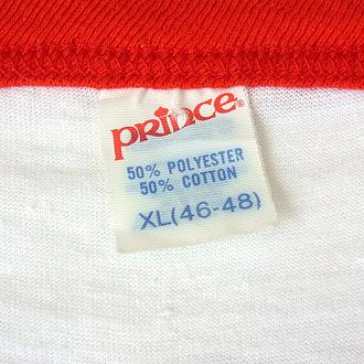 CHAMPION SPARK PLUG ヴィンテージTシャツのタグ部分ディテール画像