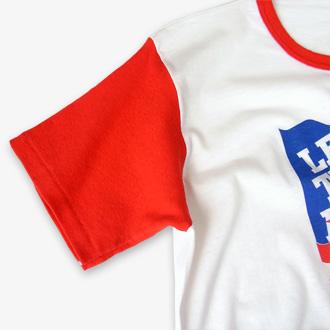 チャンピオン スパークプラグ ヴィンテージTシャツの袖部分のディテール画像