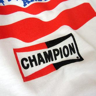 チャンピオン スパークプラグ ヴィンテージTシャツのロゴ拡大画像